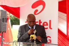 KSSSA Chairman during Airtel Rising Stars Launch 2016