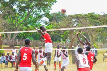 WAA Boys Volleyball Team during Term 2B 2017 Games