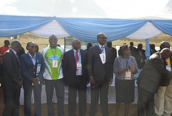 Dr.Kidero and Officilas during Opening Ceremony