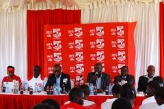 Coca Cola and KSSSA Officials during Copa Coca-Cola Launch