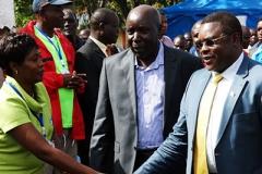 Welcoming Governor Ken Lusaka