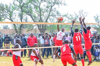 Cheptil Volleyball Girls Team during Term 2B 2017 Games