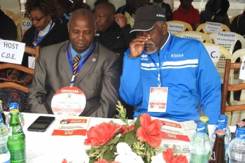 Officials During Opening Ceremony