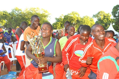During  Brookside Term 1 2019 Games in Mombasa