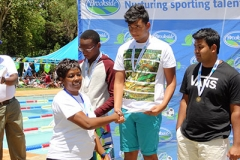 Awarding swimming Champs Term 1 2016