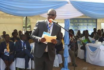 Dr.Kidero, Nairobi Governor during Opening Ceremony