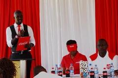News Anchor Mike Okinyi