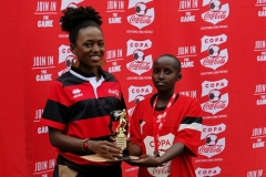 Awarding winners Term 2A Embu