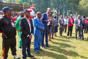 Director General – MOE, Mr Elyas Abdi, Guest of Honor at the Opening of Copa Coca-Cola 2018.