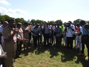 Mr. Nelson Marwa during Copa Coca-Cola Term 2A 2017 Games - Mombasa