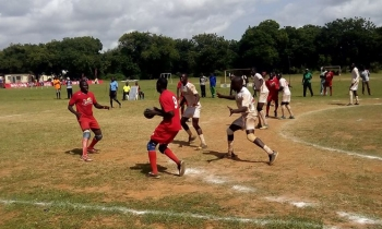 Copa Coca-Cola Term 2A 2017 Games - Mombasa - Handball Action