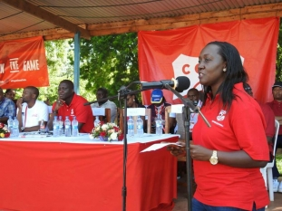 Lucy Oduor, Marketing Manager Coca Cola
