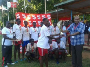 2017 Handball Girls Champions -St. Anne's, Sega Girls Sec. Sch.