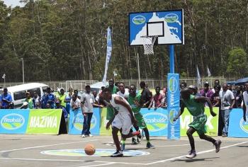 Term 1 2017 National Games - Basketball Action