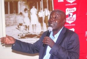 KSSSA Sec. General during Copa Coca-Cola Media Launch