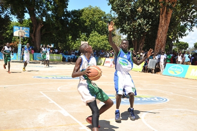 Basketball Boys during Term 1 2019 Games in Mombasa