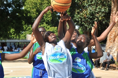 Basketball Girls during Term 1 2019 Games in Mombasa