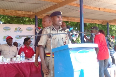 OCPD assures participants of Maximum Security at the Brookside Term 1 2019 Games in Mombasa