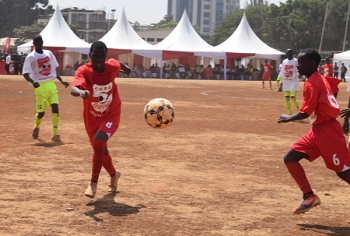 Soccer during 2017 Copa Coca-Cola Launch