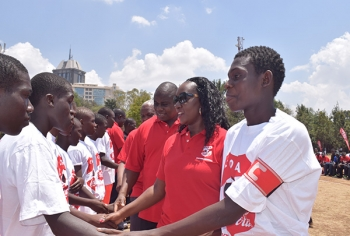 Lucy Oduor - Coca-Cola Company Marketing Manager - Kenya and Students