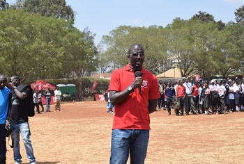 Mike Okinyi - During 2017 Copa Coca-Cola Launch