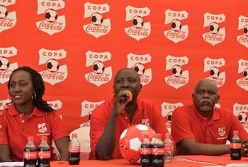 Officials - during 2017 Copa Coca-Cola Launch