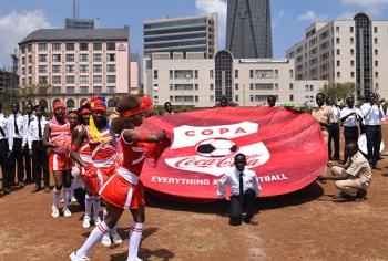 During 2017 Copa Coca-Cola Launch
