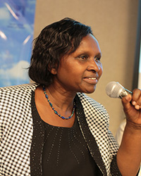 Mrs. Leah Rotich - Ag. Education Secretary